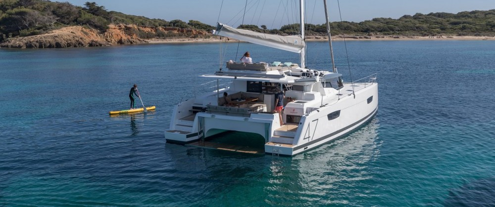 noleggio Catamarano Peloponneso - Fountaine Pajot Saona 47