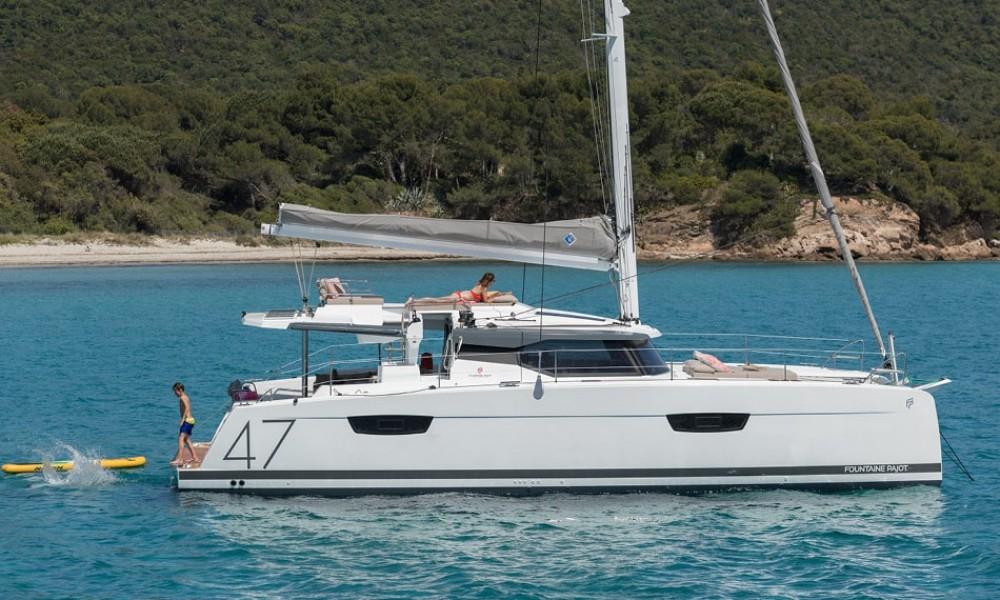 Noleggio Catamarano con o senza skipper Fountaine Pajot Peloponneso