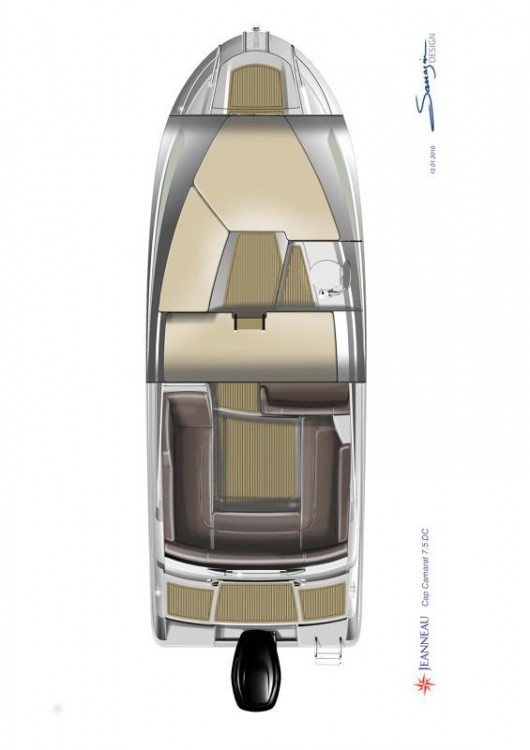 Noleggio barche Jeanneau Cap Camarat 7.5 DC Traù su Samboat