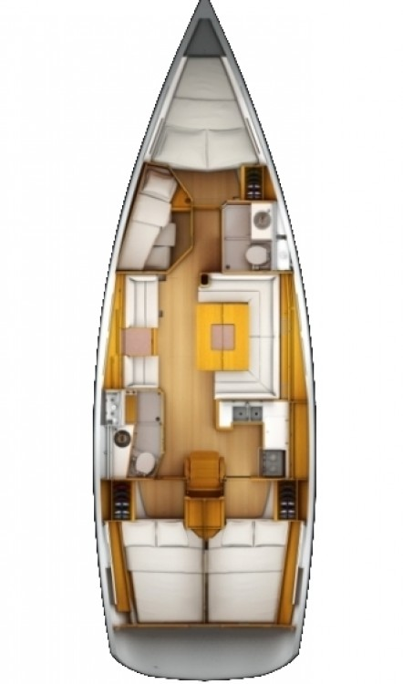 Noleggio Barca a vela con o senza skipper Jeanneau Corfu