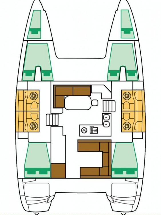 Catamarano a noleggio Spalato al miglior prezzo
