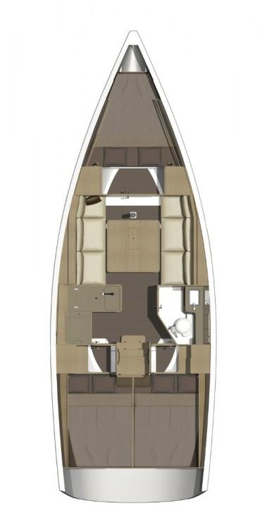 Noleggio yacht Croazia - Dufour Dufour 350 Grand Large su SamBoat