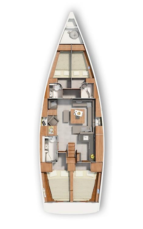 Noleggio yacht Croazia - Hanse Hanse 455 su SamBoat