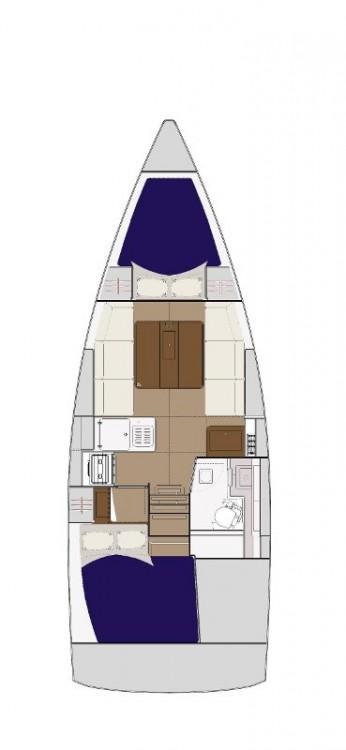 Noleggio barche Dufour Dufour 310 Grand Large Croazia su Samboat