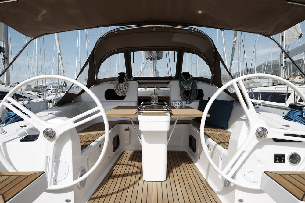 Noleggio barche Marina Kaštela economico Elan Impression 45