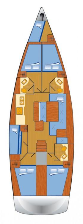 Noleggio barche Pula economico Oceanis 50