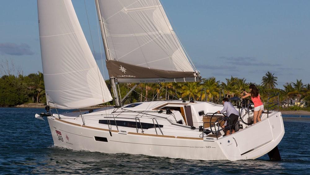 Noleggio barche Jeanneau Sun Odyssey 349 Pola su Samboat