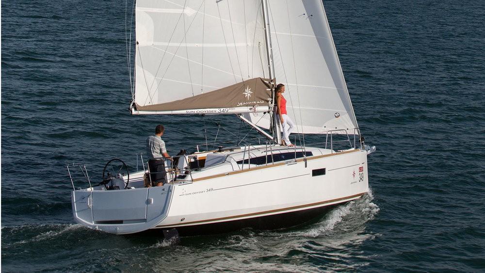 Jeanneau Sun Odyssey 349 tra personale e professionale Pola