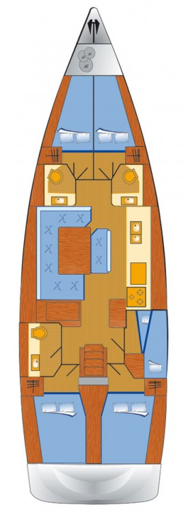 Barca a vela a noleggio Rogoznica al miglior prezzo