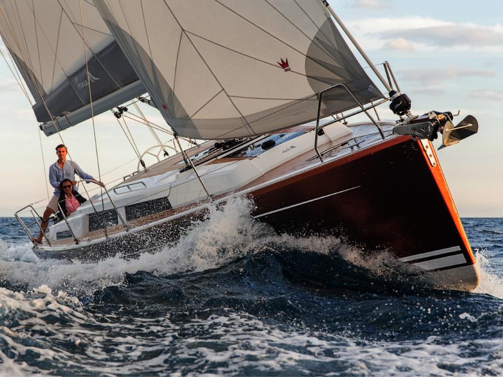Noleggio barche Croazia economico Hanse 388