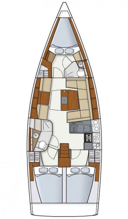 noleggio Barca a vela Croazia - Hanse Hanse 415