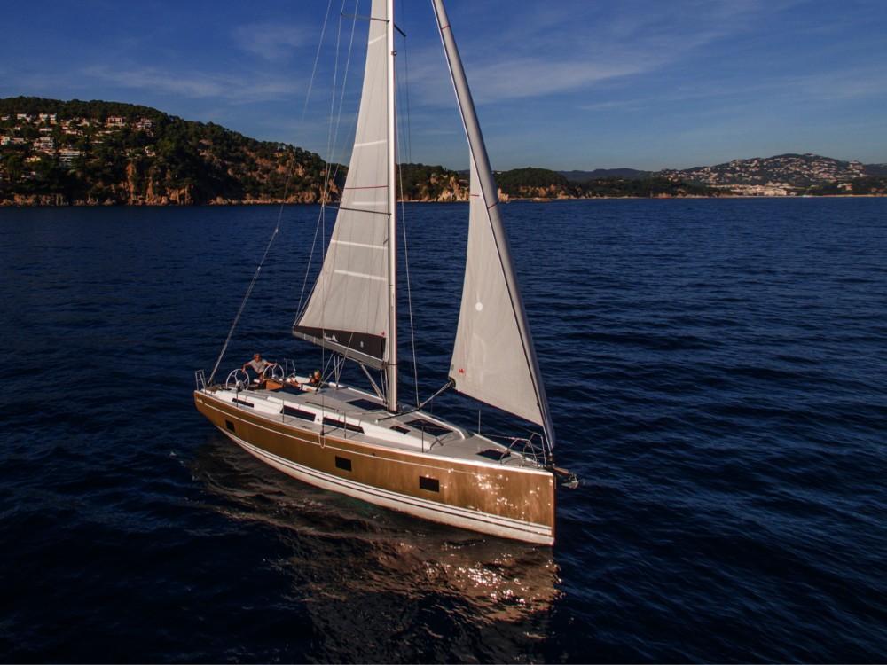 noleggio Barca a vela  - Hanse Hanse 418