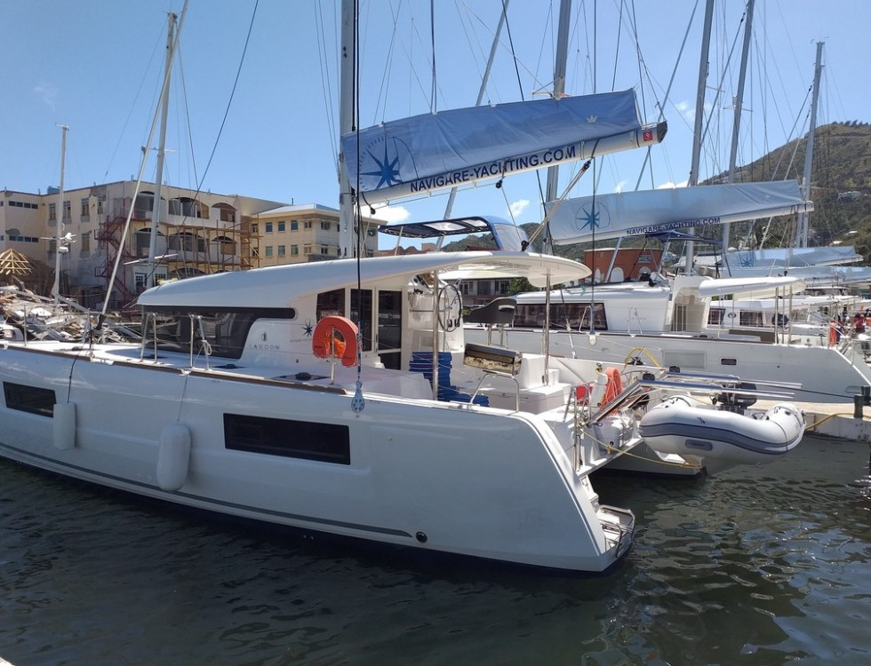noleggio Catamarano Tortola - Lagoon Lagoon 40 - 4 + 2 cab