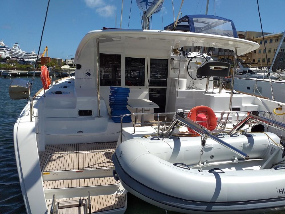 Noleggiare un'Lagoon Lagoon 40 - 4 + 2 cab  Tortola