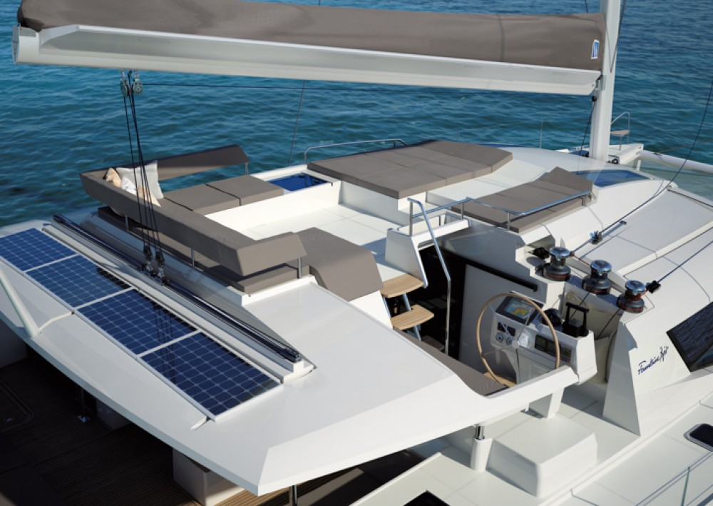 Noleggio barche Fountaine Pajot Saba 50 Furnari su Samboat