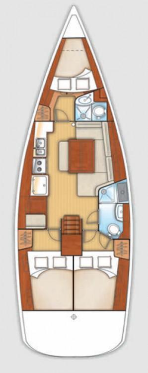 Noleggio yacht Volos - Bénéteau Oceanis 40 su SamBoat