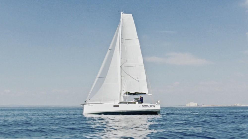 Noleggio Barca a vela con o senza skipper Pogo Structures Roses