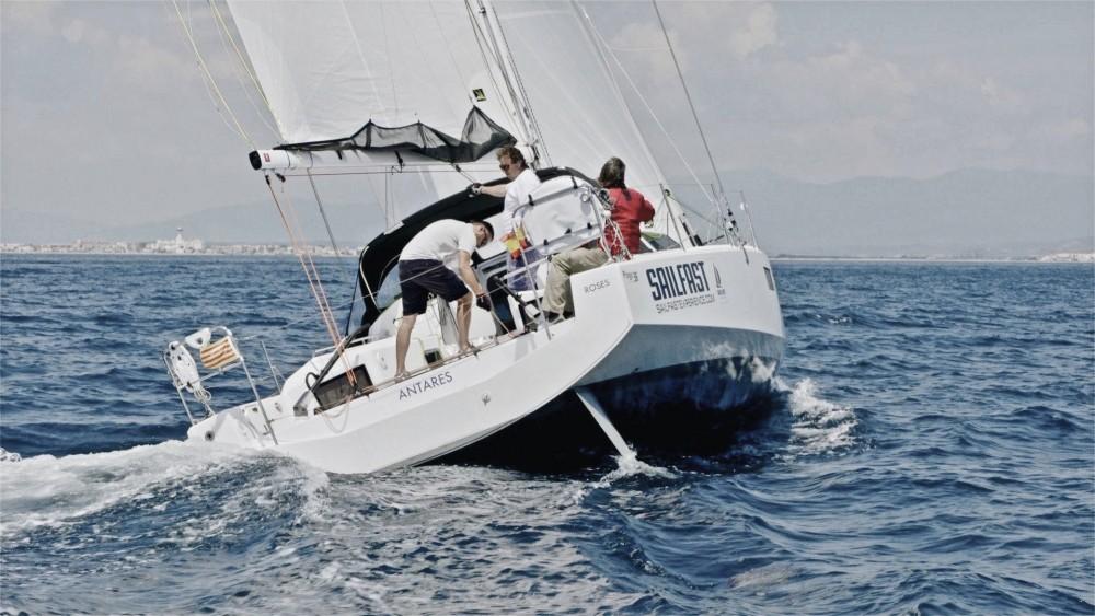 Noleggio Barca a vela Pogo Structures con una patente