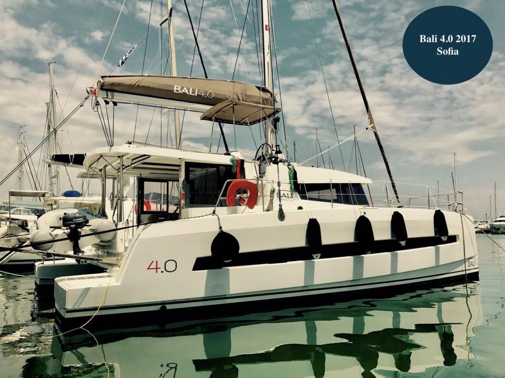 Noleggio barche Corfù economico Bali 4.0 - 4 + 2 cab.