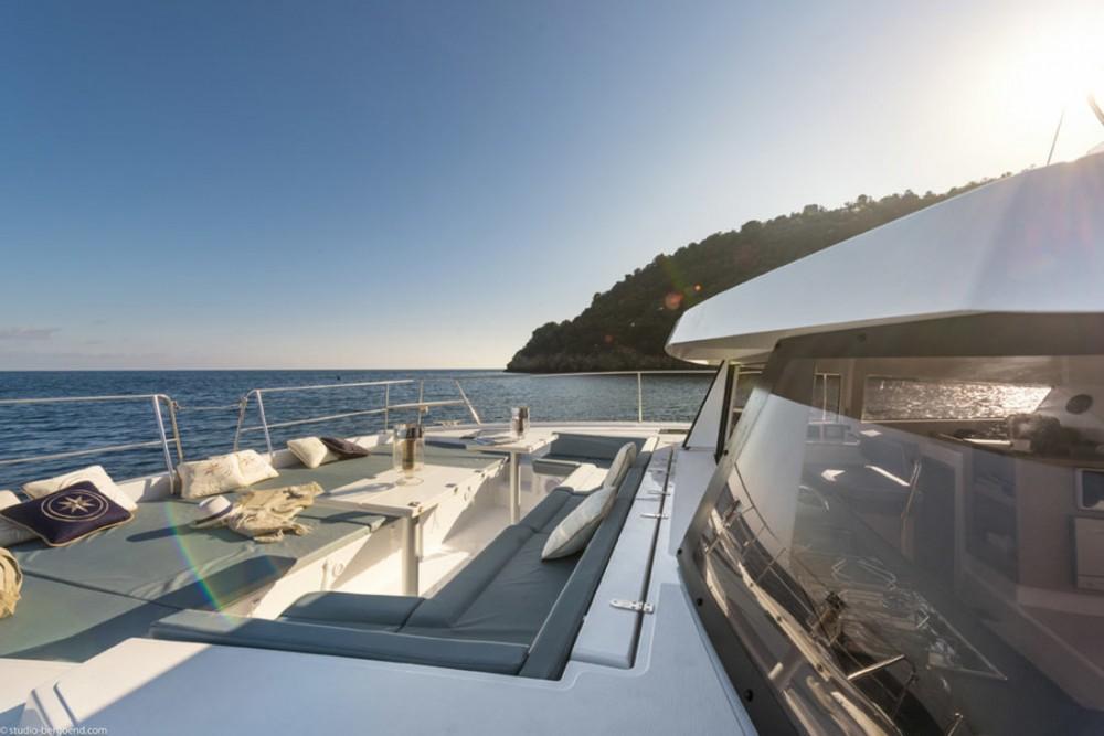 Noleggio barche Catana Bali 4.0 - 4 + 2 cab. Corfù su Samboat