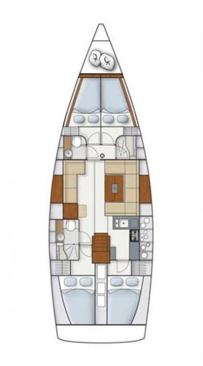 Noleggio barche  economico Hanse 445