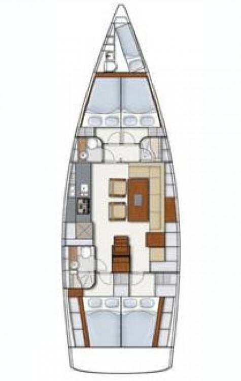 Noleggio barche Hanse Hanse 495 Spalato su Samboat