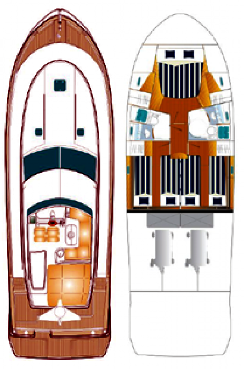 Noleggio yacht Općina Sukošan - Bénéteau Antares 13,80 su SamBoat