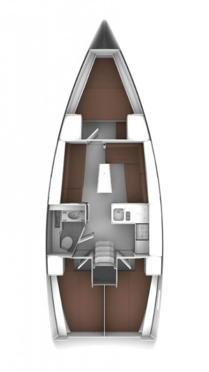 Bavaria Cruiser 37 tra personale e professionale Općina Sukošan