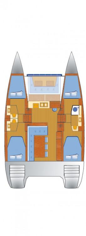 Noleggio yacht Can Pastilla - Catana Bali 4.0 - 4 cab. su SamBoat