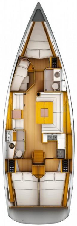 Noleggio Barca a vela con o senza skipper Jeanneau Rogač
