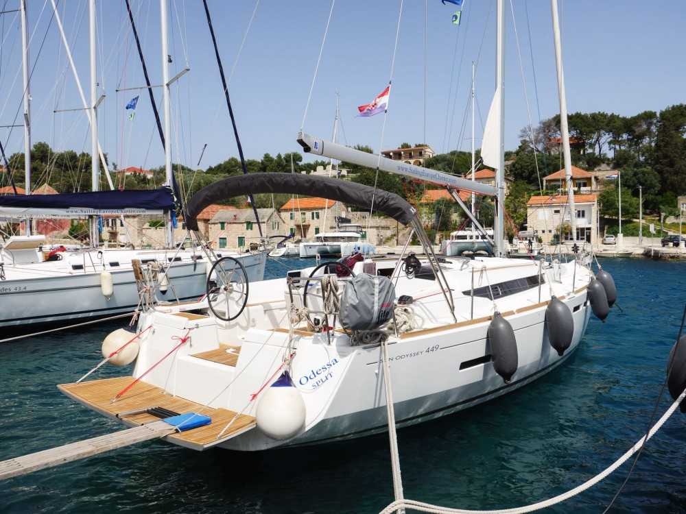 Noleggio yacht Rogač - Jeanneau Sun Odyssey 449 su SamBoat