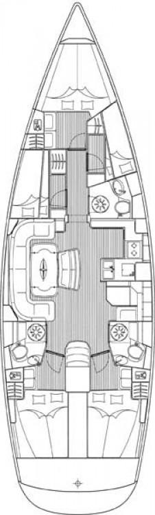 Bavaria Cruiser 50 tra personale e professionale Leucade