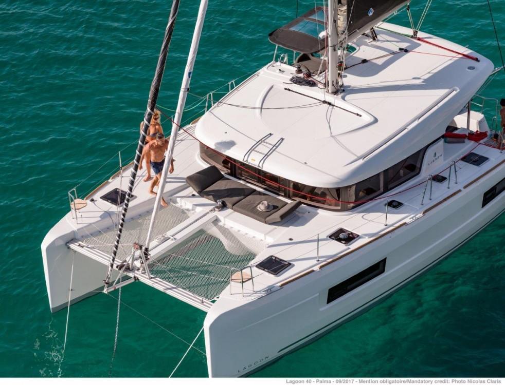 Noleggio Catamarano con o senza skipper Lagoon Leucade