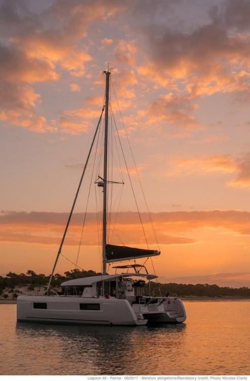 Noleggio barche Leucade economico Lagoon 40