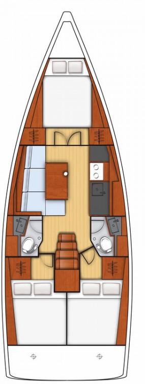 noleggio Barca a vela Leucade - Bénéteau Oceanis 38.1