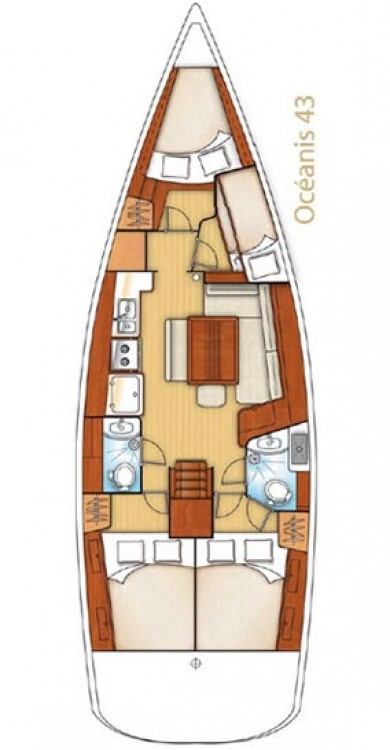 Noleggio barche Bénéteau Oceanis 43 Peloponneso su Samboat