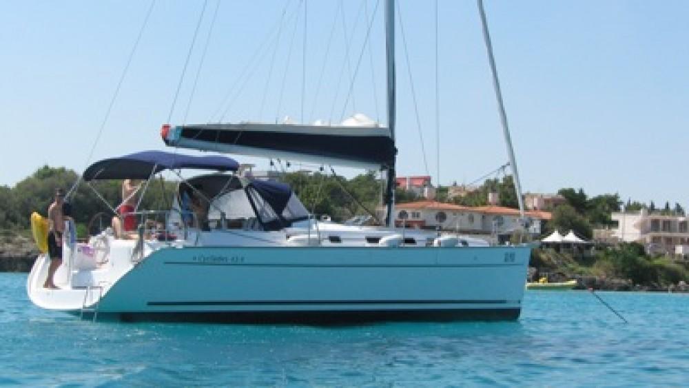 Noleggio barche Calcara economico Cyclades 43