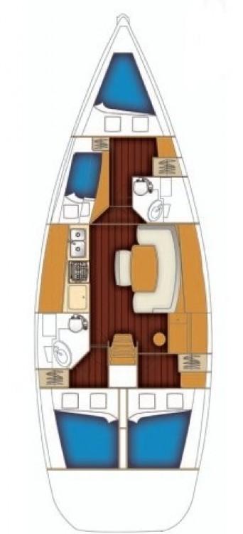 Noleggio barche Bénéteau Cyclades 43 Calcara su Samboat
