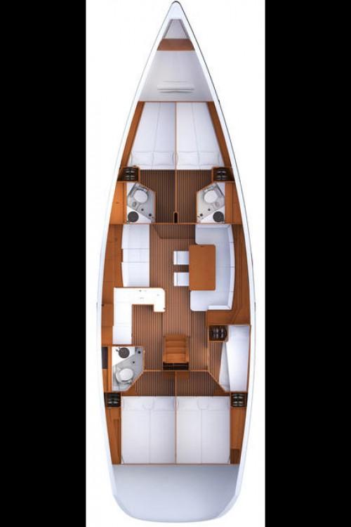 Noleggio Barca a vela con o senza skipper Jeanneau Calcara
