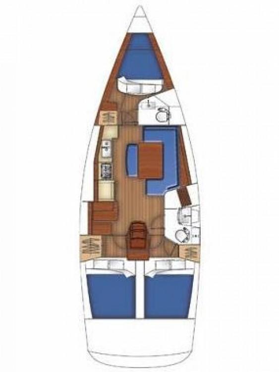 noleggio Barca a vela Calcara - Bénéteau Oceanis 40
