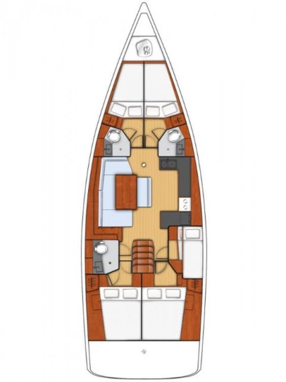 Noleggio Barca a vela con o senza skipper Bénéteau Marsala