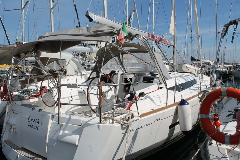 Jeanneau Sun Odyssey 439 tra personale e professionale