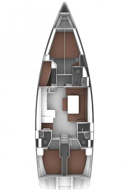Noleggio barche Traù economico Cruiser 51