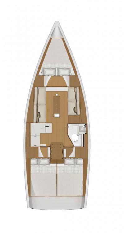 noleggio Barca a vela Croazia - Dufour Dufour 360 Grand Large