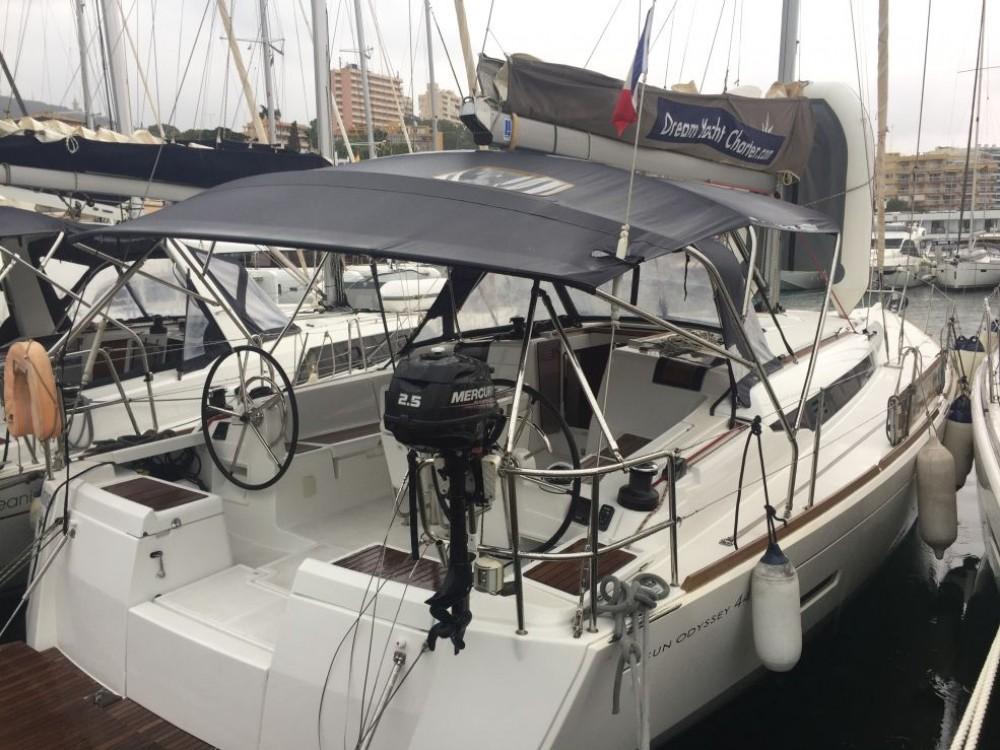 Jeanneau Sun Odyssey 449 tra personale e professionale Napoli
