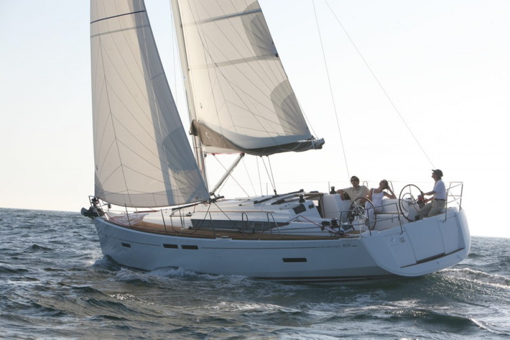 Jeanneau Sun Odyssey 409 tra personale e professionale Palma
