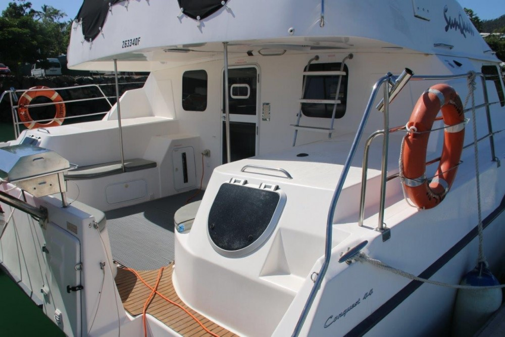 Noleggio yacht Airlie Beach - Boston Whaler Conquest 44 su SamBoat