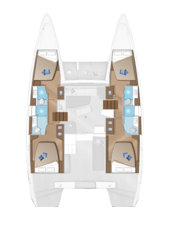 Noleggio yacht Tortola - Lagoon Lagoon 42 su SamBoat
