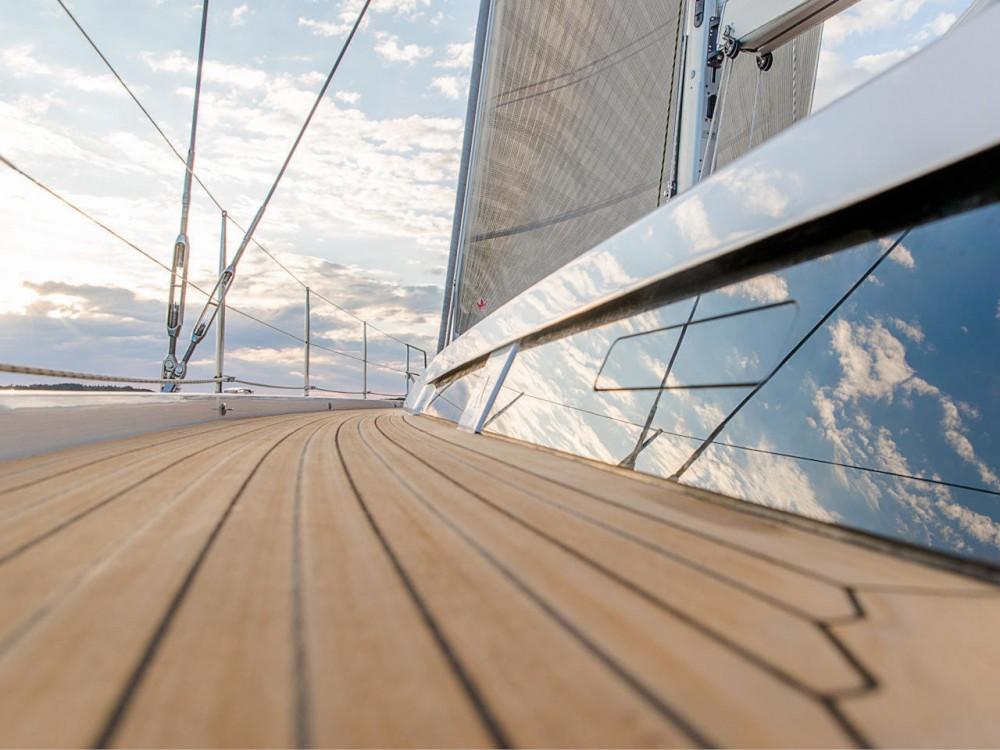 Noleggio barche Croazia economico Hanse 548