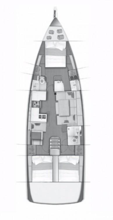 noleggio Barca a vela Göcek - Jeanneau Sun Odyssey 490